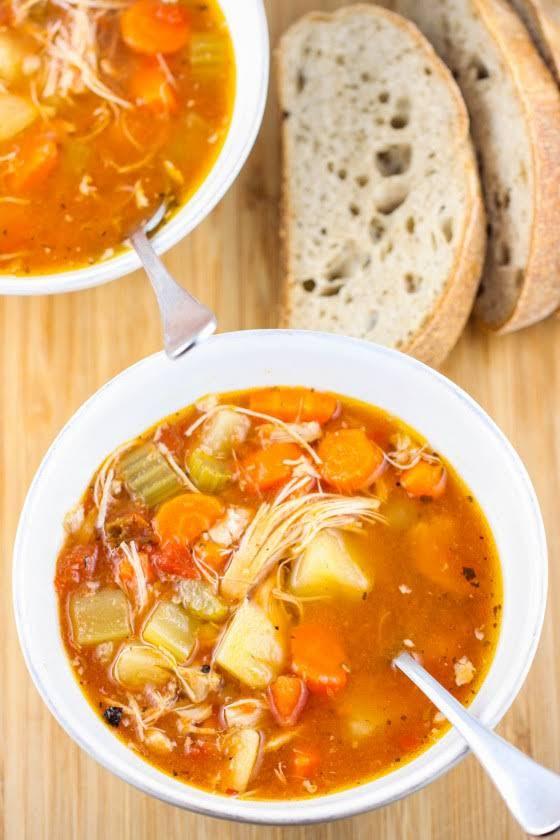 Healthy Chicken Stew Crock Pot  10 Best Healthy Crock Pot Chicken Stew Recipes