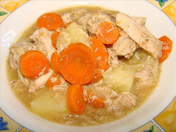 Healthy Chicken Stew Crock Pot  Gingered Chicken Stew Crock Pot Recipe Food