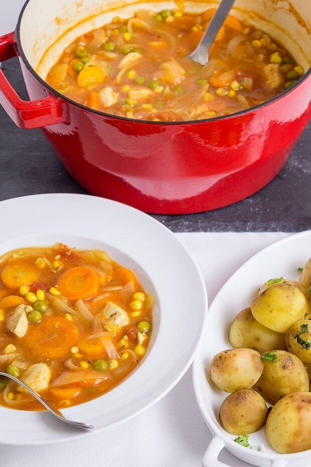 Healthy Chicken Stew Recipes  Quick Healthy Chicken Stew