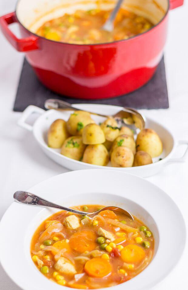 Healthy Chicken Stew Recipes  Quick Healthy Chicken Stew Neils Healthy Meals