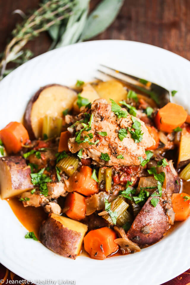 Healthy Chicken Stew Slow Cooker  10 Guilt Free International Slow Cooker Recipes The