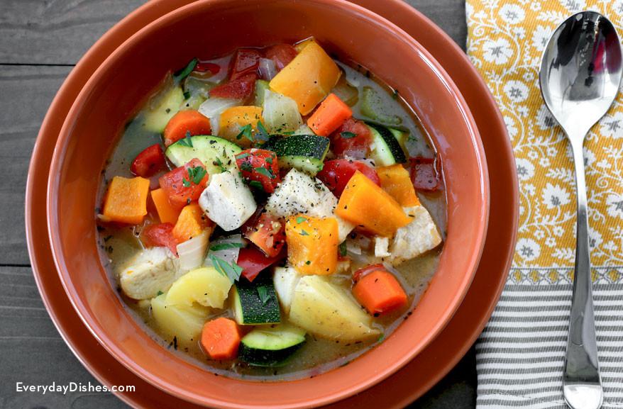 Healthy Chicken Stew  Healthy Chicken Stew Recipe