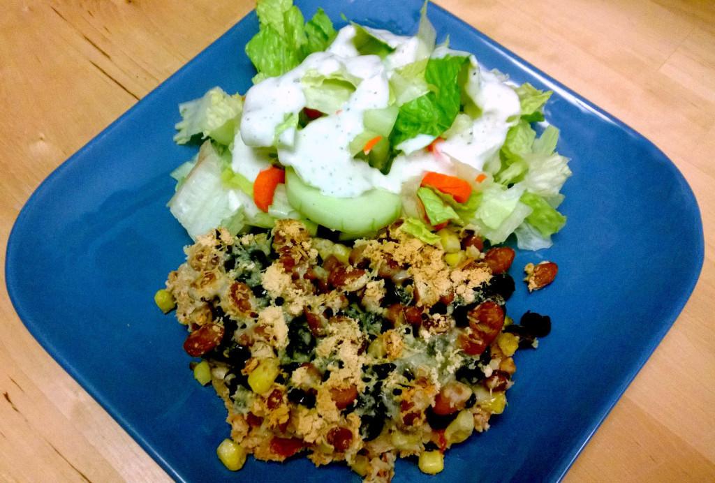 Healthy Chicken Taco Casserole  Girls' Night In Healthy Meal e Pot Chicken Taco Casserole