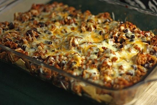 Healthy Chicken Taco Casserole  Easy Taco Casserole