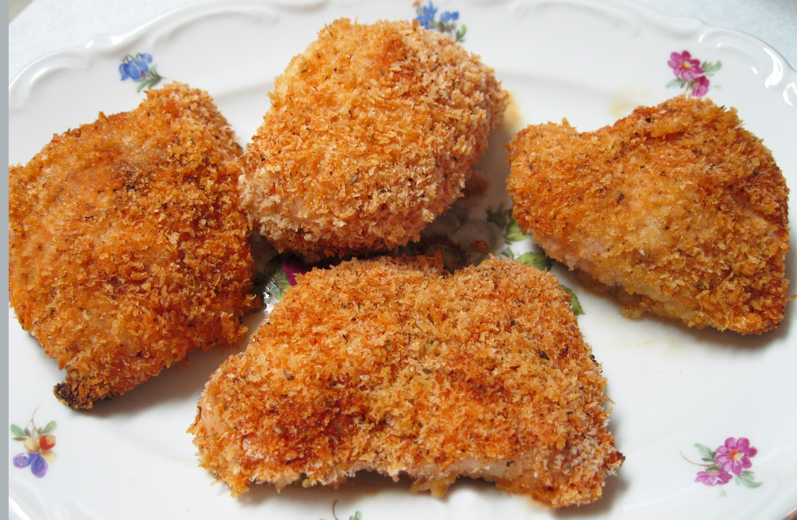 Healthy Chicken Tenders Panko  Healthy You Panko Crusted Chicken