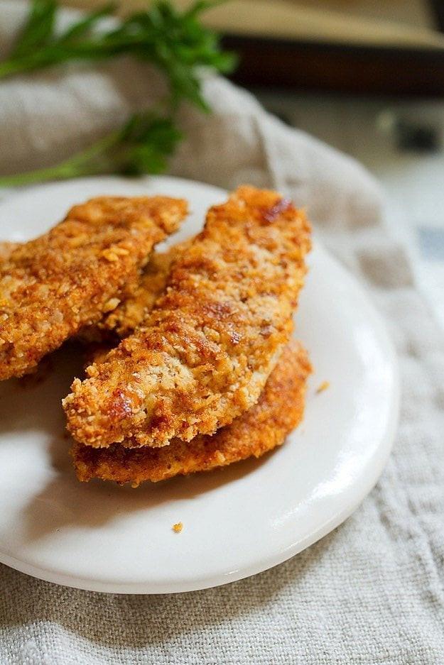Healthy Chicken Tenders  Healthy Chicken Recipes