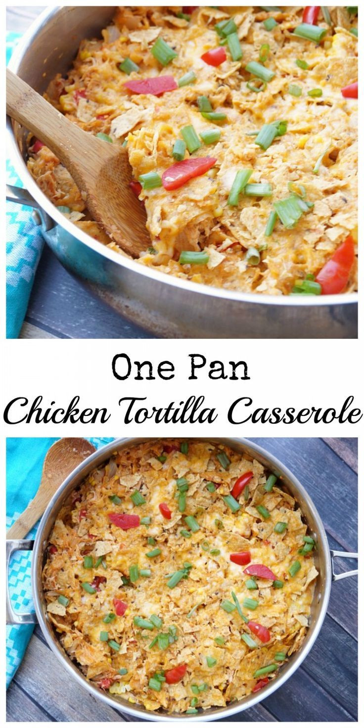 Healthy Chicken Tortilla Casserole  258 best images about Chicken Recipes on Pinterest