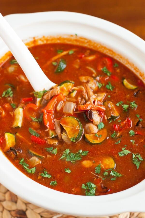Healthy Chicken Tortilla Soup Crock Pot  The Best Gluten Free Healthy Chicken Tortilla Soup Recipe