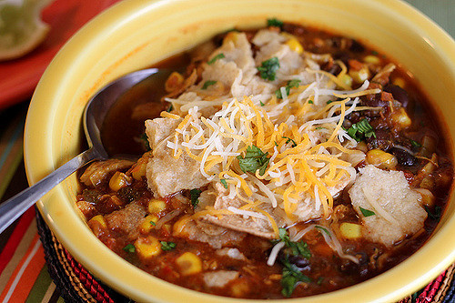 Healthy Chicken Tortilla Soup Recipe  Healthy Chicken Tortilla Soup Recipe Back to the Cutting