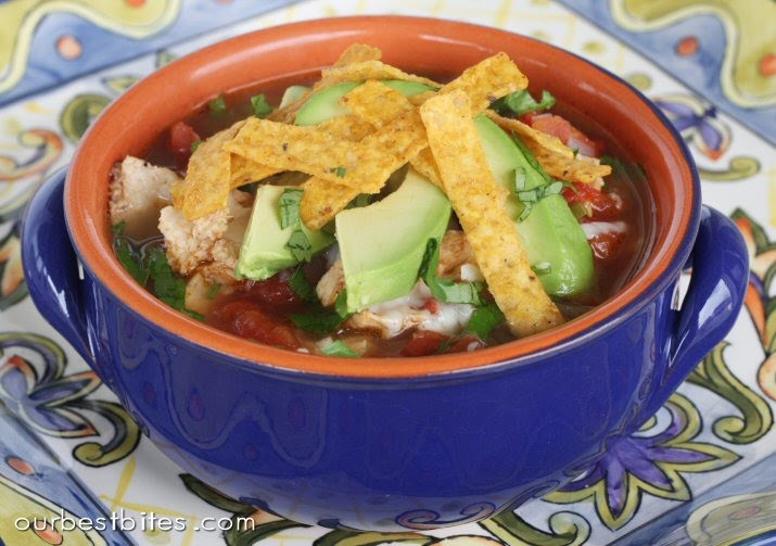 Healthy Chicken Tortilla Soup Recipe  Fast and Healthy Chicken Tortilla Soup Our Best Bites