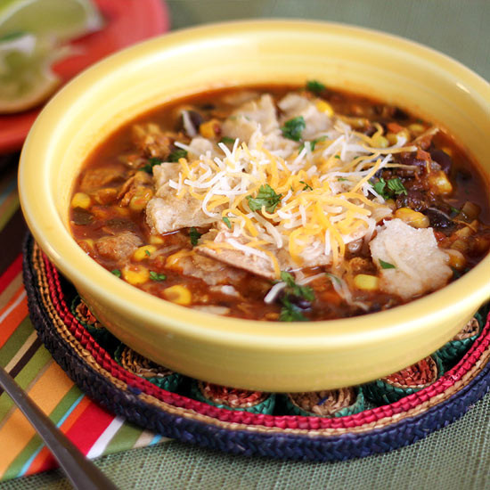 Healthy Chicken Tortilla Soup Recipe  Healthy Chicken Tortilla Soup