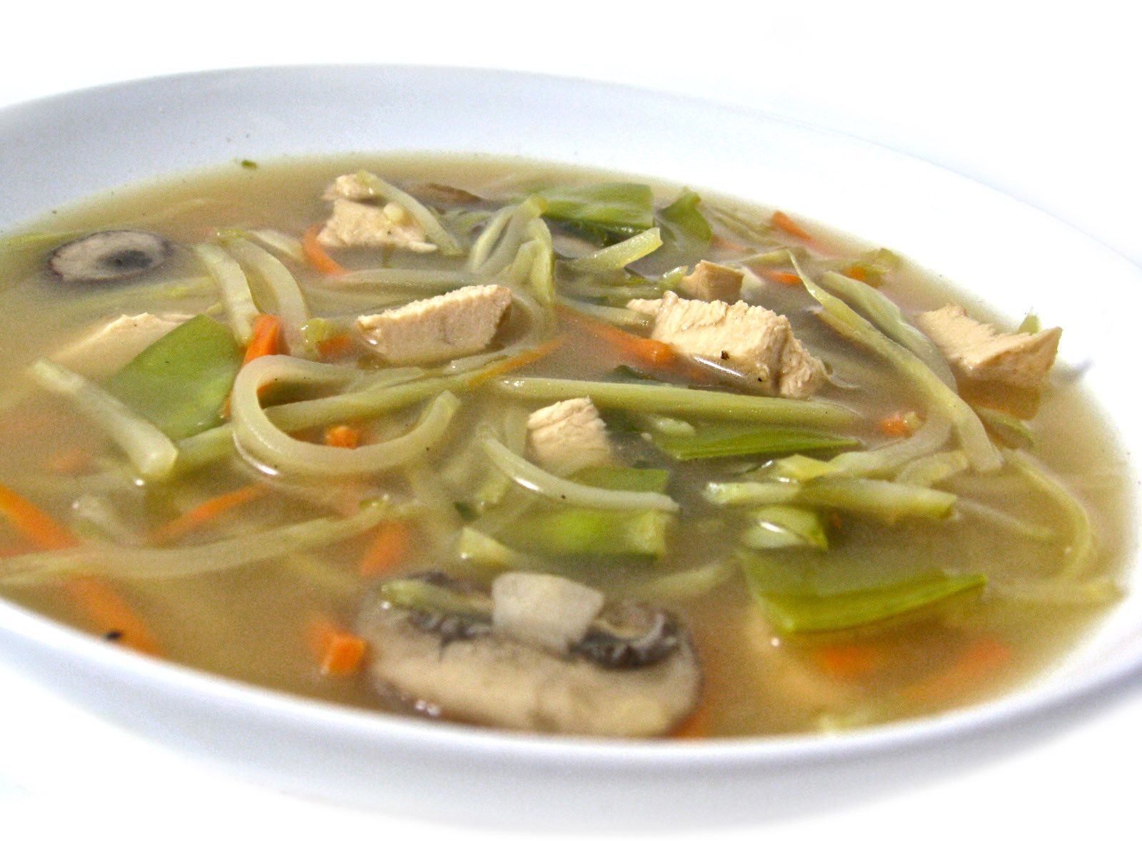 Healthy Chicken Vegetable Soup  Super Healthy and Delicious Chinese Chicken Ve able