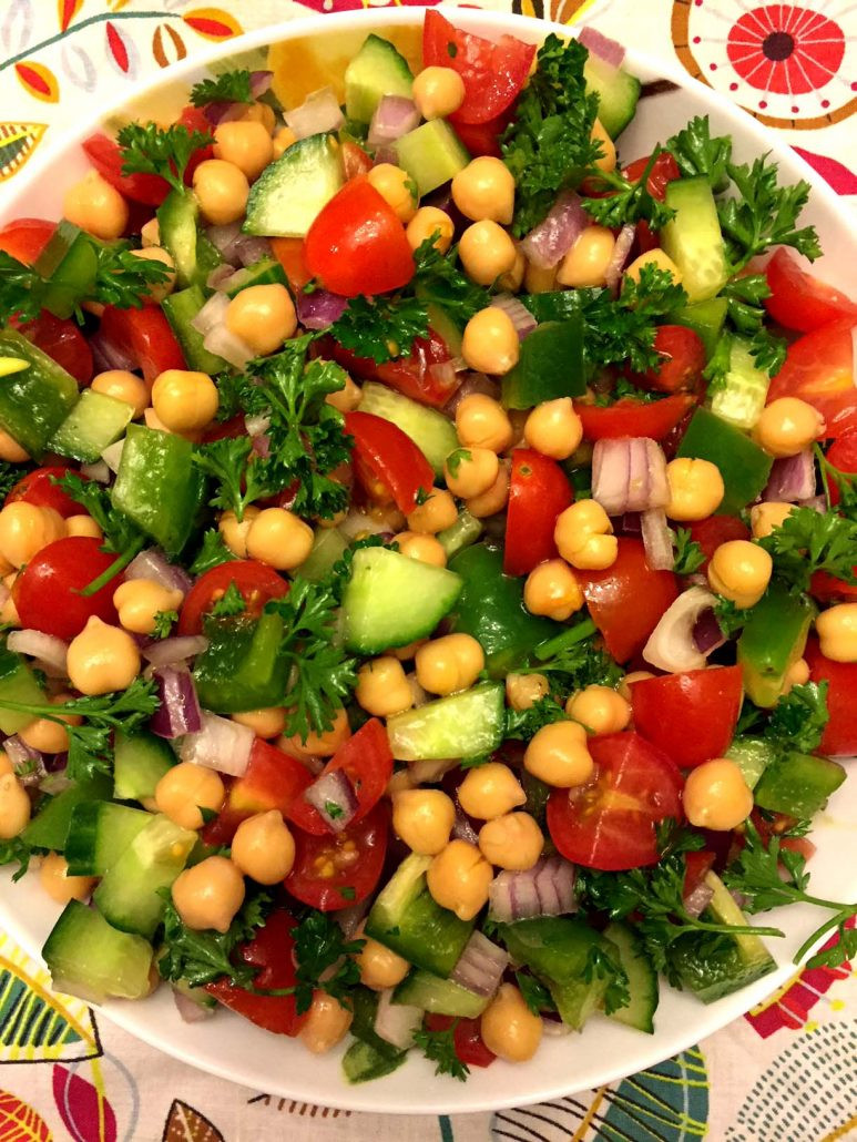 Healthy Chickpea Recipes  Mediterranean Chickpea Salad Recipe – Simple Healthy