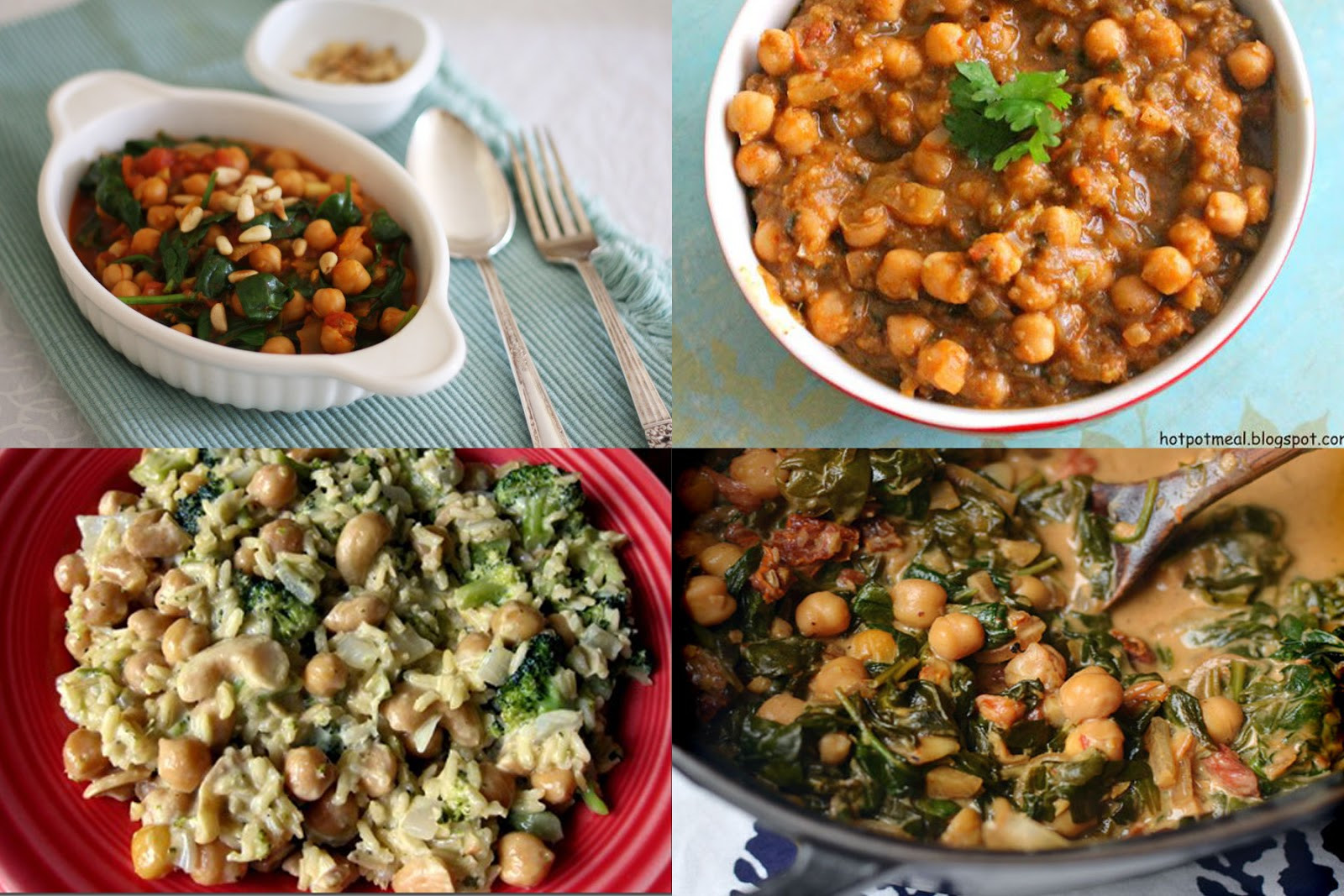 Healthy Chickpea Recipes  InSpiral Coaching Healthy Recipe Blog Carnival Chickpeas