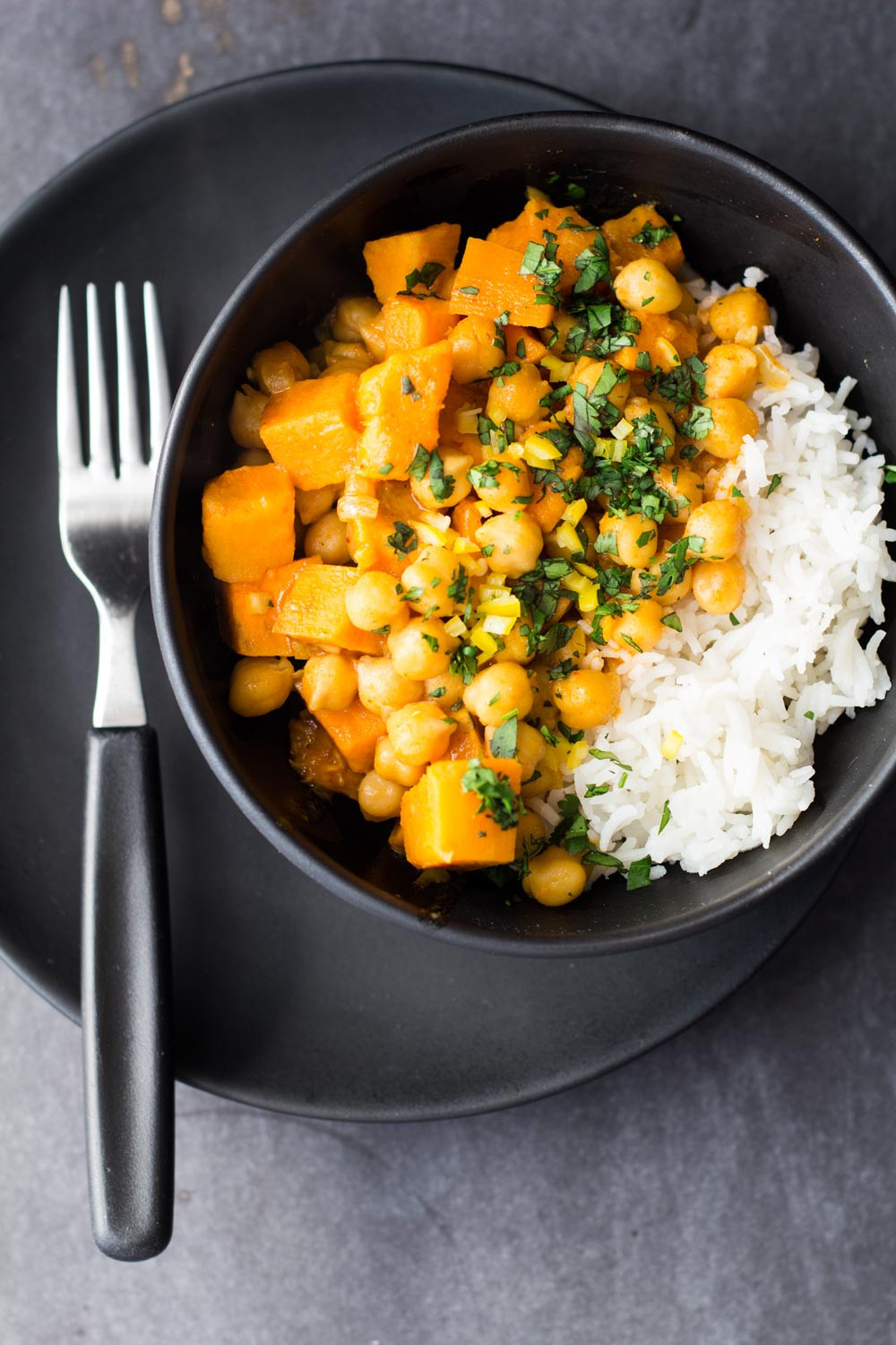 Healthy Chickpea Recipes  Vegan Sweet Potato and Chickpea Curry Green Healthy Cooking