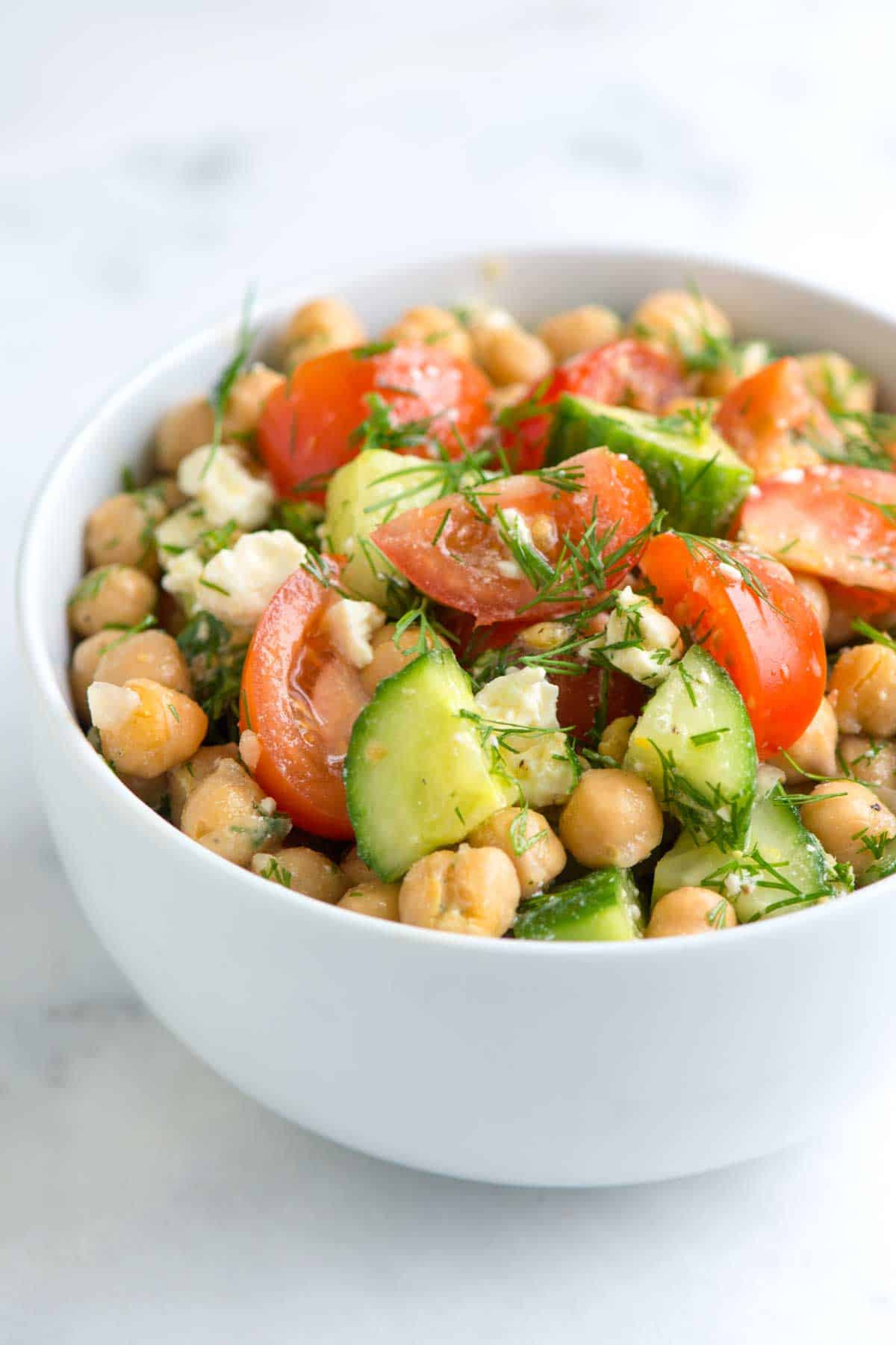 Healthy Chickpea Recipes  healthy chickpea salad