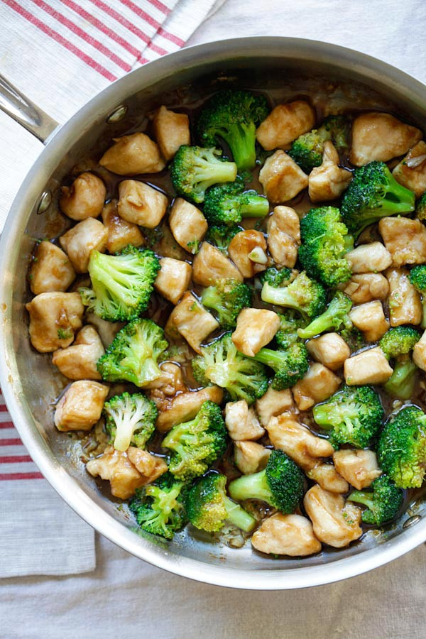 Healthy Chinese Food Recipes  Chinese Chicken and Broccoli Homemade at Takeout
