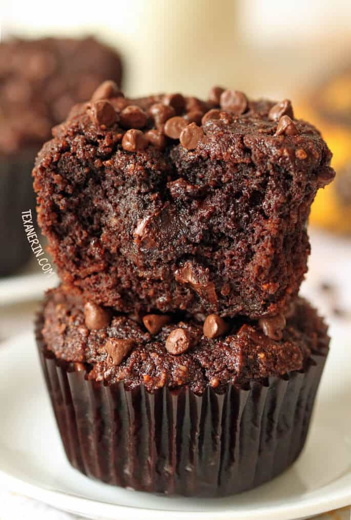 Healthy Chocolate Banana Muffins the top 20 Ideas About Healthy Gluten Free Muffins ⋆ Great Gluten Free Recipes