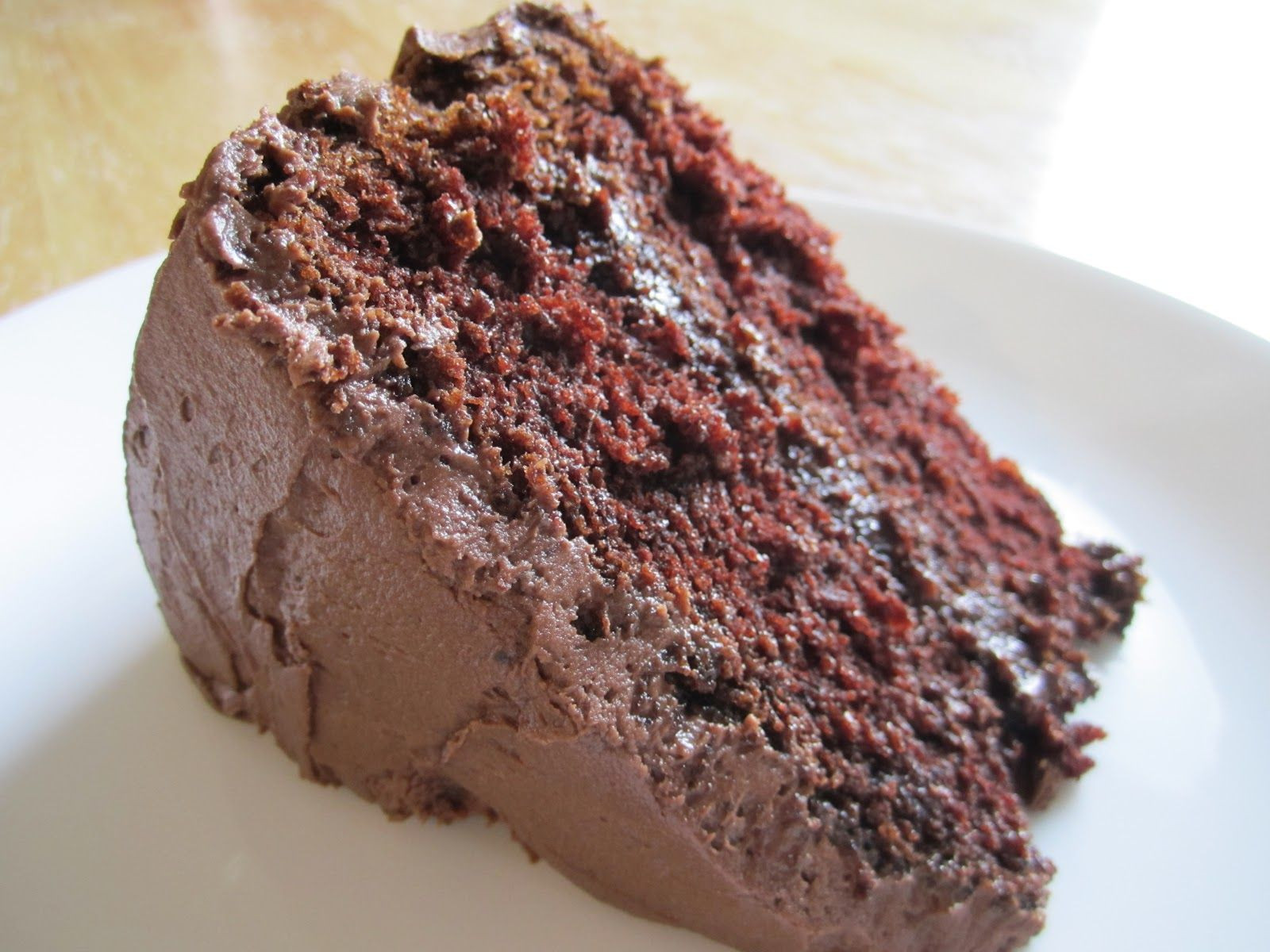 Healthy Chocolate Cake Recipe From Scratch  Moist Cake Recipes From Scratch