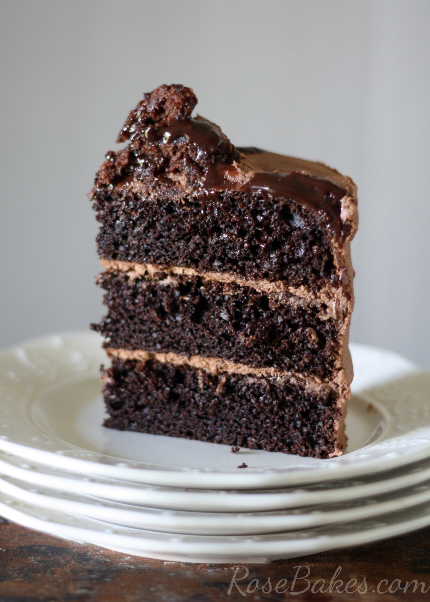 Healthy Chocolate Cake Recipe From Scratch  e Bowl Chocolate Cake from scratch Rose Bakes