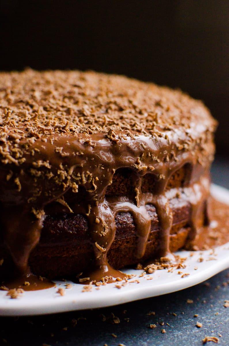 Healthy Chocolate Cake Recipe  Healthy Chocolate Cake iFOODreal Healthy Family Recipes