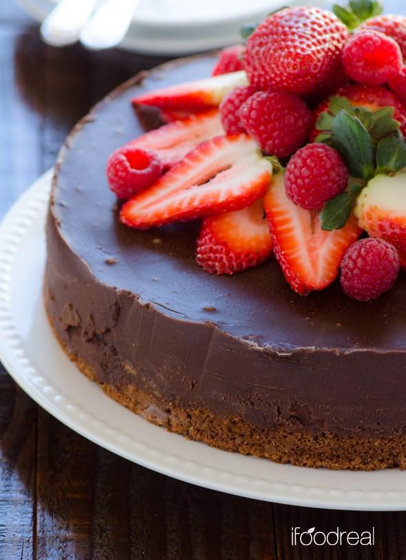 Healthy Chocolate Cake With Applesauce  Healthy 10 Minute Pumpkin Cheesecake Parfaits Recipe