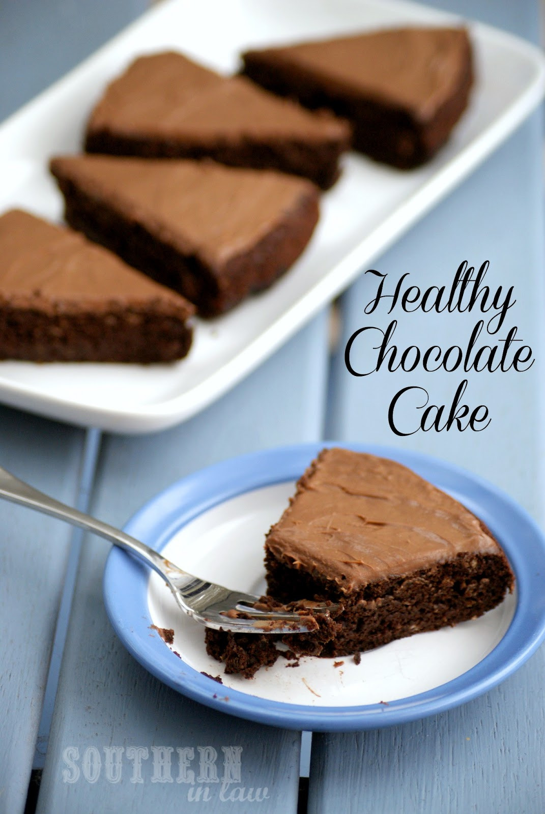 Healthy Chocolate Cake With Applesauce  Southern In Law Recipe Healthy Chocolate Cake Vegan too