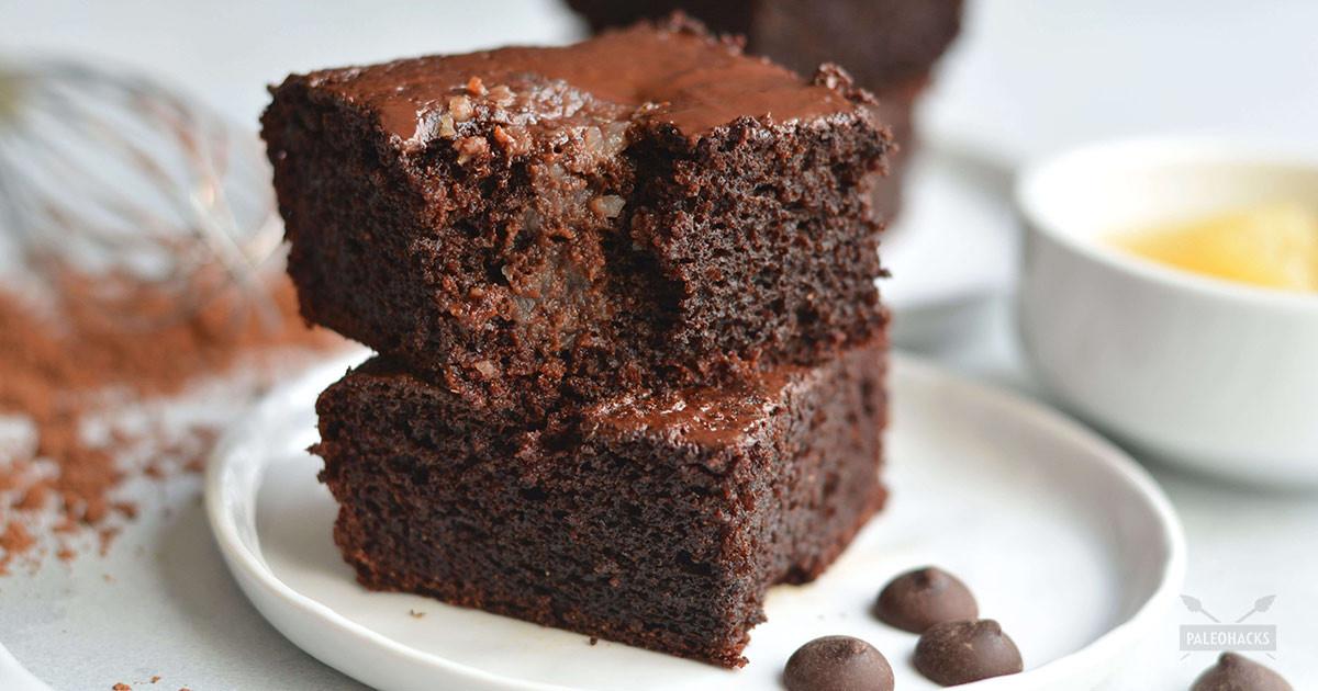 Healthy Chocolate Cake With Applesauce  applesauce chocolate cake