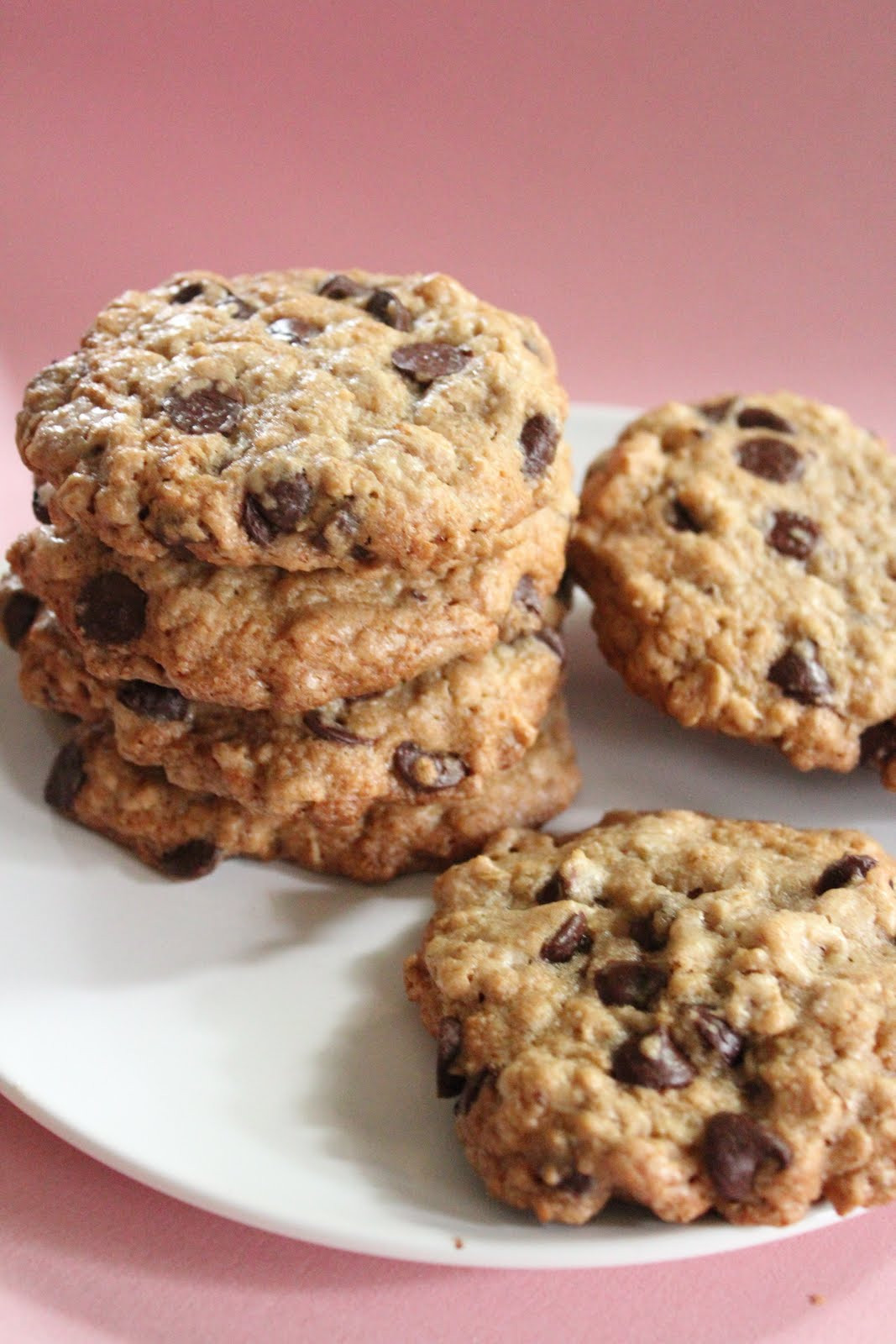 Healthy Chocolate Chip Cookies  Ultimate healthier oatmeal and chocolate chip cookies