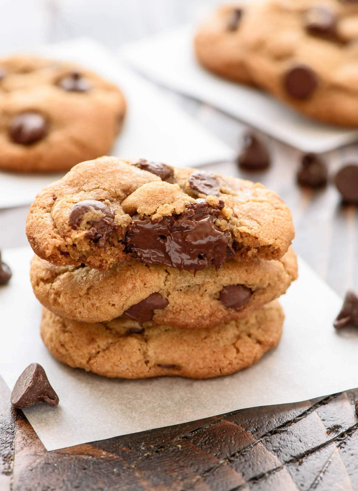 Healthy Chocolate Chip Cookies With Coconut Oil  Chocolate Chip Coconut Oil Cookies