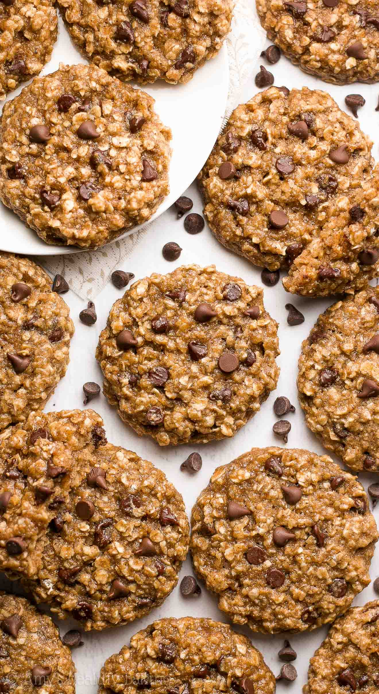 Healthy Chocolate Chip Oatmeal Cookies top 20 Chai Spice Chocolate Chip Oatmeal Cookies