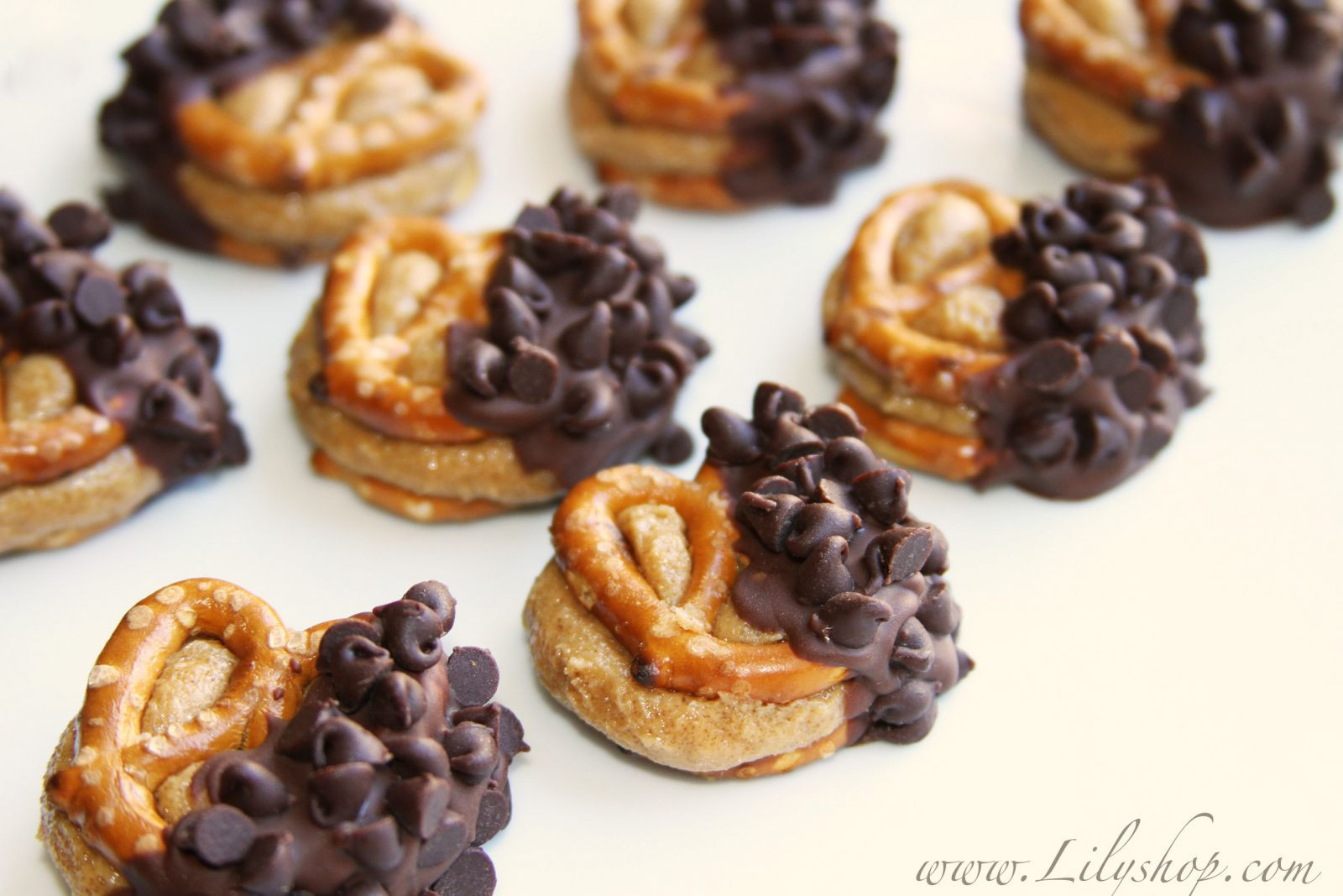 Healthy Chocolate Covered Pretzels  Chocolate Covered Peanut Butter Pretzels – ModernMom