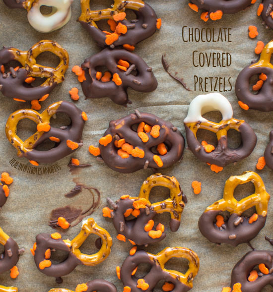 Healthy Chocolate Covered Pretzels  Chocolate Covered Pretzels