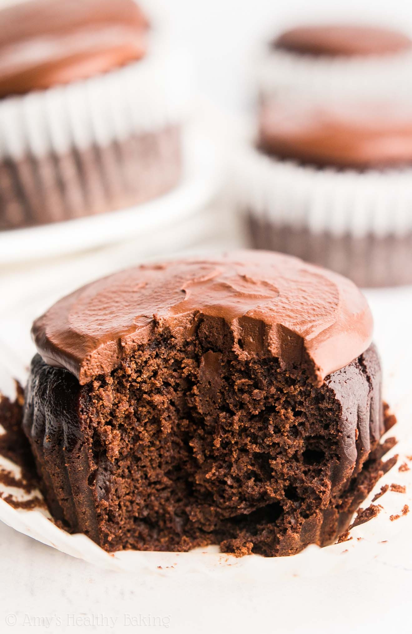 Healthy Chocolate Cupcakes  The Ultimate Healthy Dark Chocolate Cupcakes VIDEO