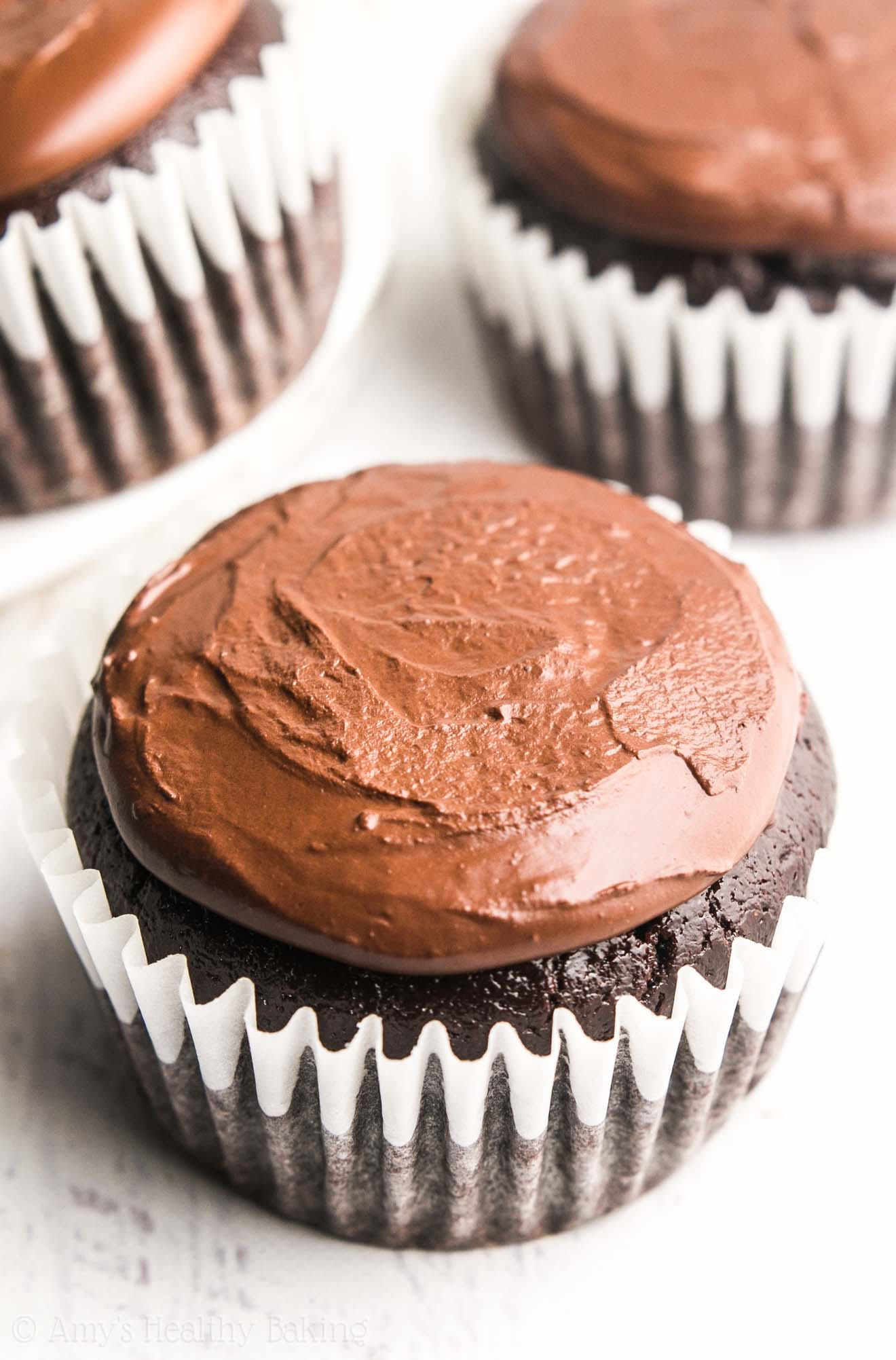 Healthy Chocolate Cupcakes  The Ultimate Healthy Dark Chocolate Cupcakes