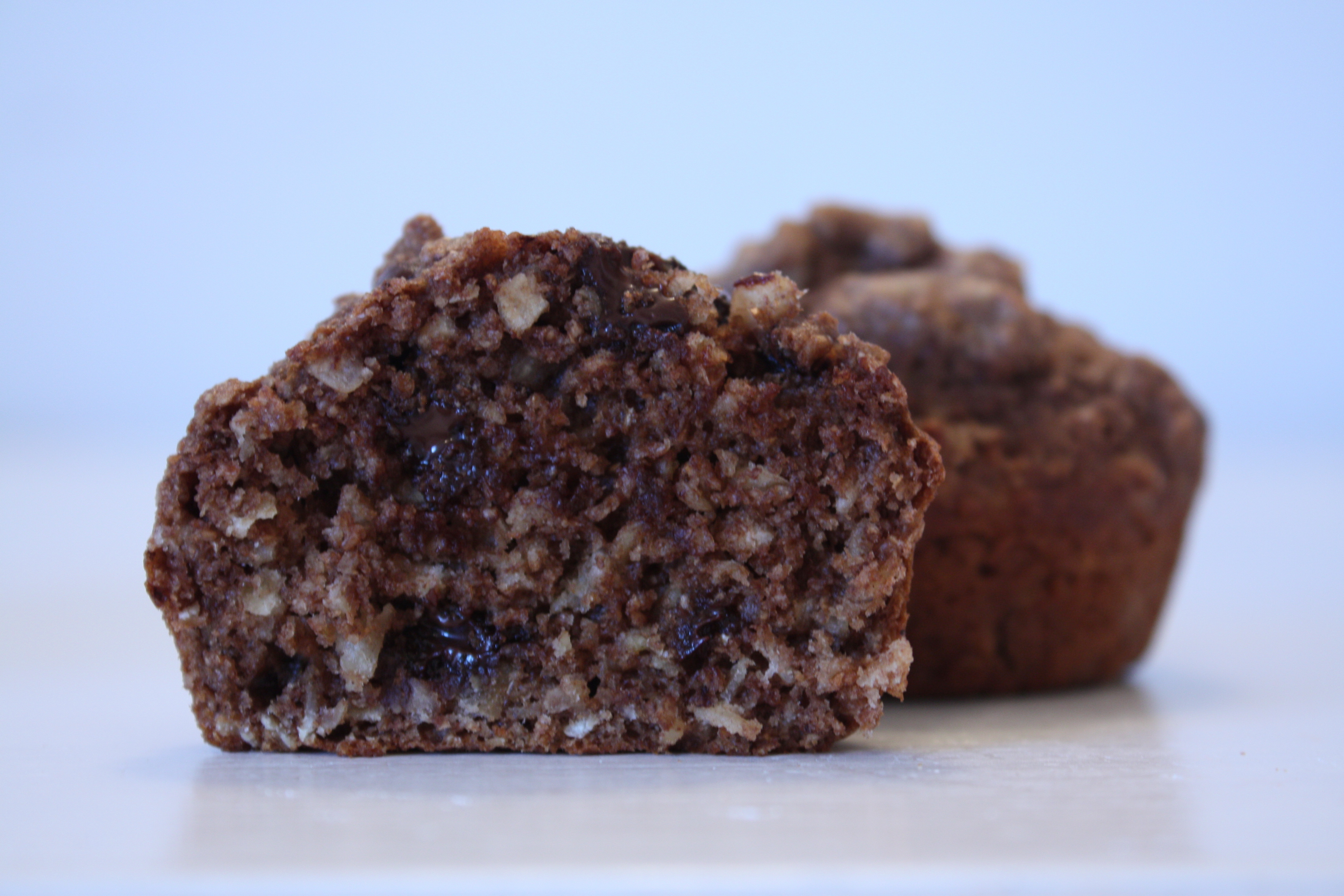 Healthy Chocolate Muffins Oatmeal  healthy chocolate oatmeal muffins