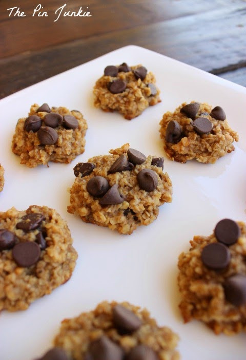 Healthy Chocolate Peanut Butter Cookies  Healthy Chocolate Peanut Butter Cookies