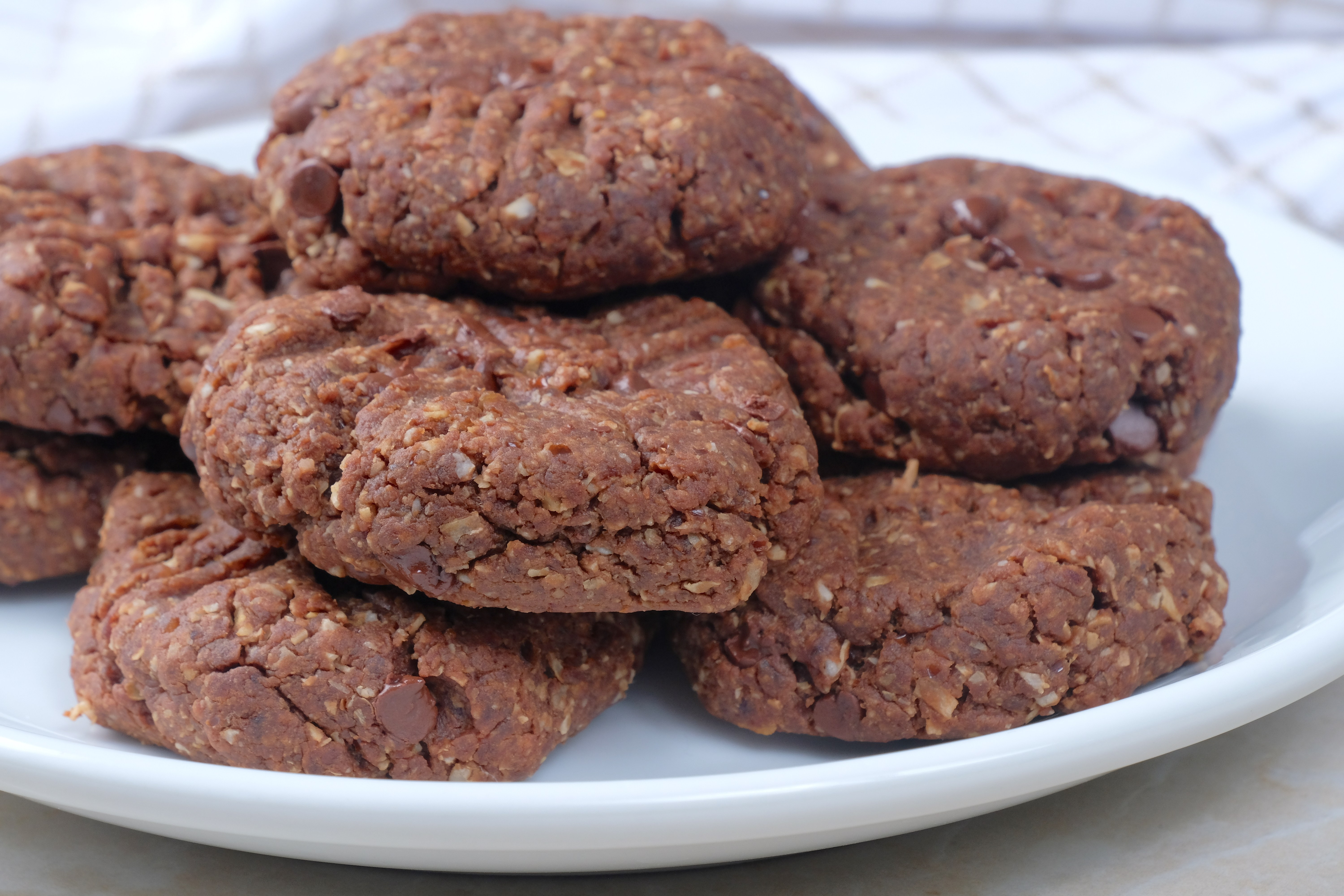 Healthy Chocolate Peanut Butter Cookies  Healthy Chocolate Peanut Butter Cookies Meatless Makeovers