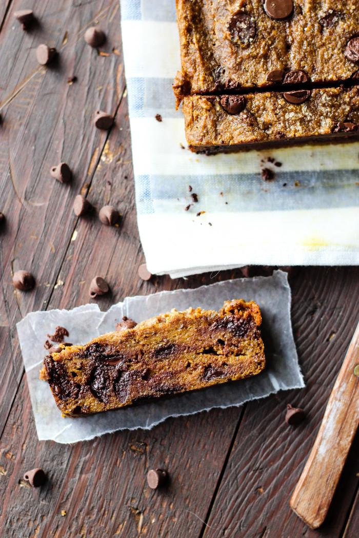 Healthy Chocolate Pumpkin Bread  Healthy Chocolate Chip Pumpkin Bread – The Yooper Girl