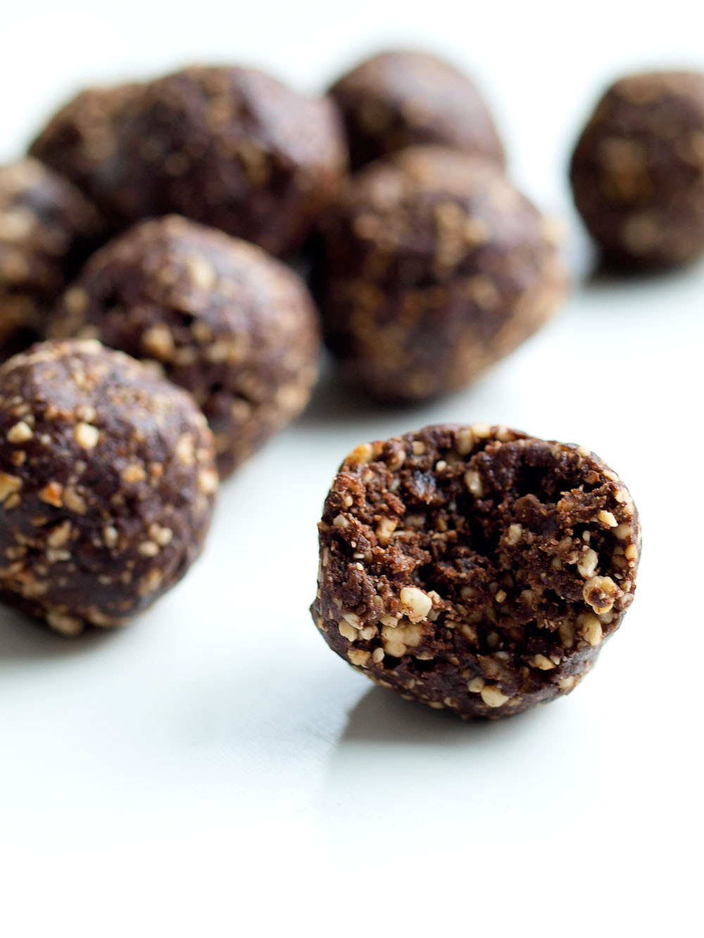 Healthy Chocolate Snacks Recipes  Chocolate Bliss Balls Happy Healthy Mama