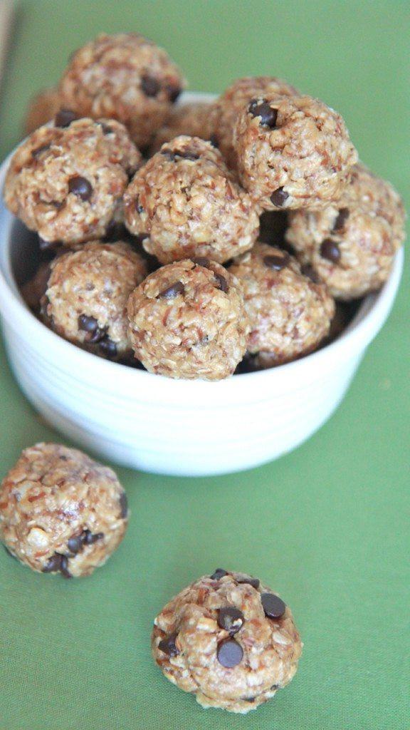 Healthy Chocolate Snacks Recipes  Healthy No Bake Energy Bites Recipe
