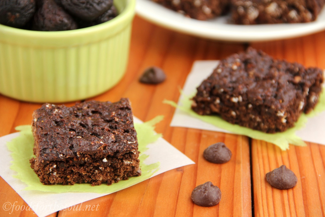 Healthy Chocolate Snacks Recipes  Chocolate Fig Squares