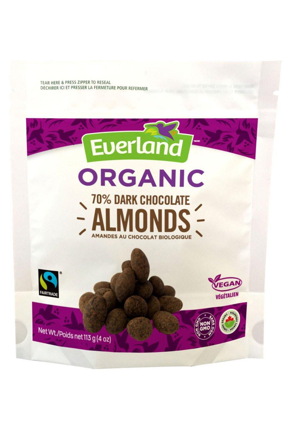 Healthy Chocolate Snacks To Buy  Buy Organic Dark Chocolate Almonds Vegan