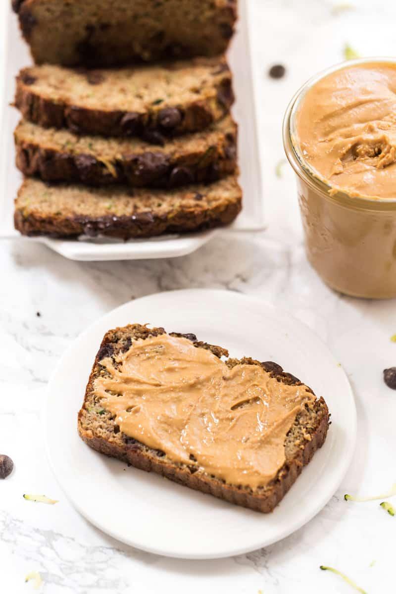 Healthy Chocolate Zucchini Bread Recipe  Healthy Chocolate Chip Zucchini Bread Simply Quinoa