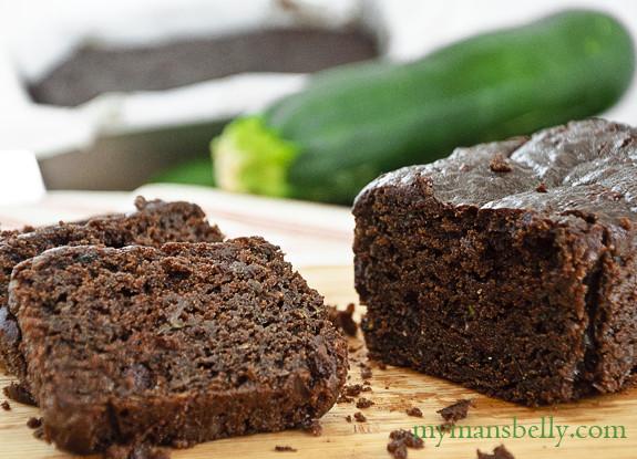 Healthy Chocolate Zucchini Bread  Gluten Free Chocolate Zucchini Bread