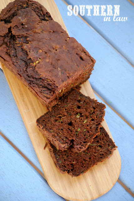Healthy Chocolate Zucchini Bread  Southern In Law Recipe Healthy Chocolate Zucchini Bread