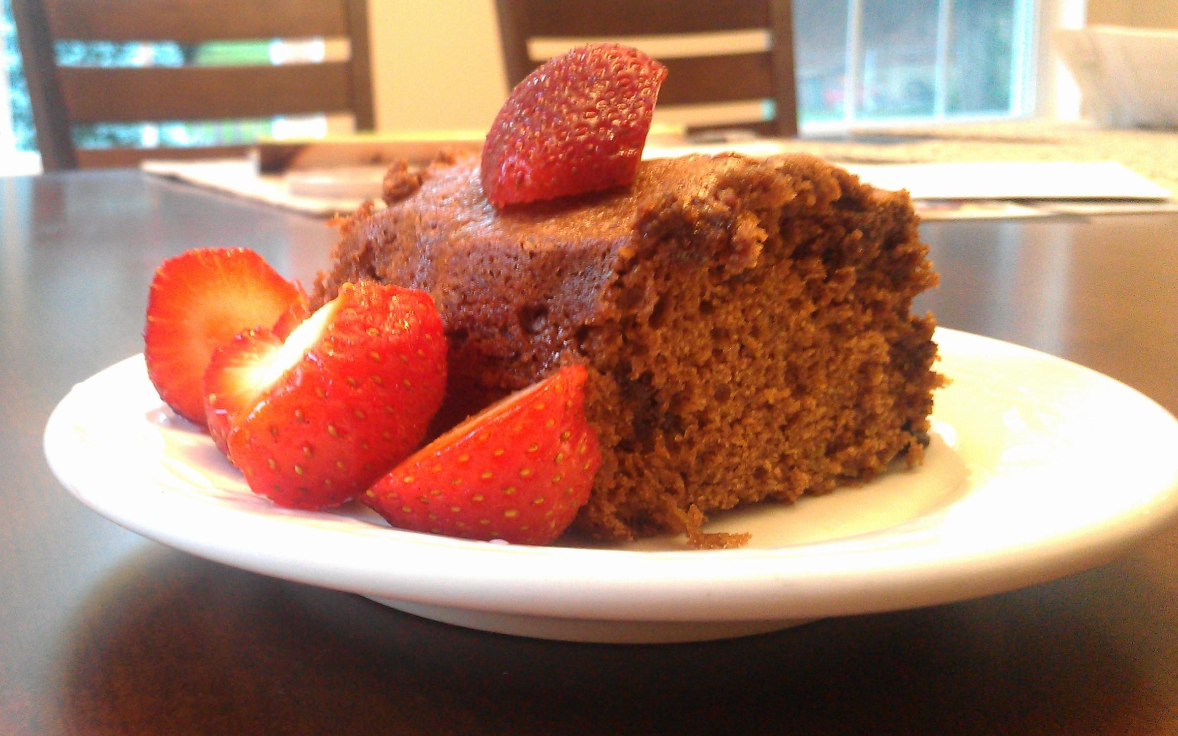 Healthy Chocolate Zucchini Cake  Healthy chocolate zucchini cake