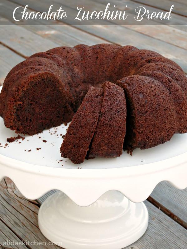 Healthy Chocolate Zucchini Cake  Cake Recipe Healthy Chocolate Zucchini Bundt Cake Recipe