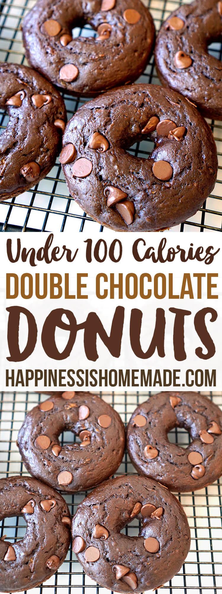Healthy Chocolate Zucchini Cake  Double Chocolate Zucchini Cake Donuts Happiness is Homemade