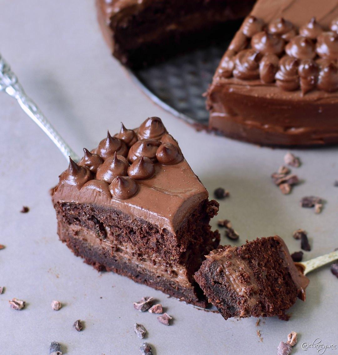 Healthy Chocolate Zucchini Cake  Chocolate zucchini cake